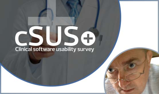 Joe's view: of the clinical software usability survey