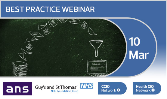 A paperless 2018 - Guy's and St Thomas' NHS Foundation Trust Webinar