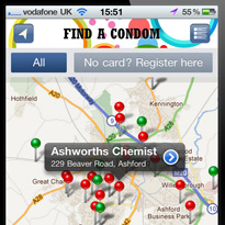Kent takes wraps off condom finder app