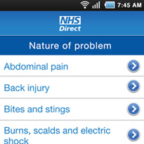 NHS Direct launches mobile apps