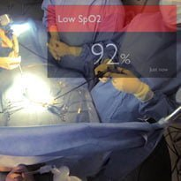 Google Glass delivers patient data
