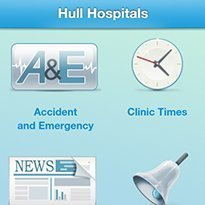 Hull creates real-time A&E waits app