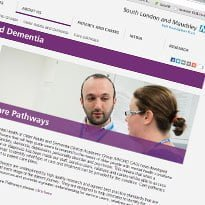 Maudsley puts care pathways online