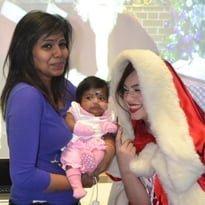 Santa spreads virtual cheer to hospitals