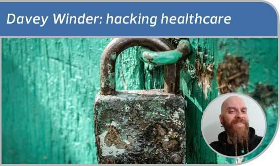 Davey Winder: hacking healthcare