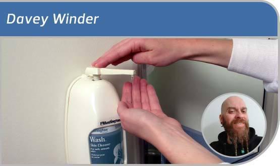 Davey Winder: Please wash your hands
