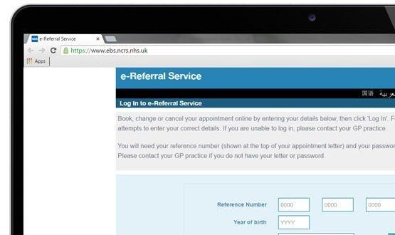 Enter the CCG: defends the e-Referral Service