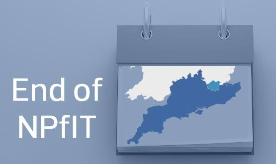 FinIT: the end of NPfIT in London and the South
