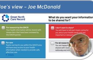 Joe's view: of consent models