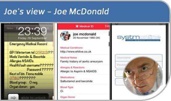 Joe's view: of Patient Online