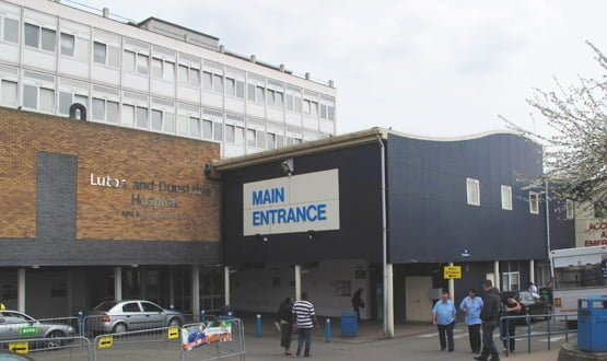 Luton turns records space into clinics