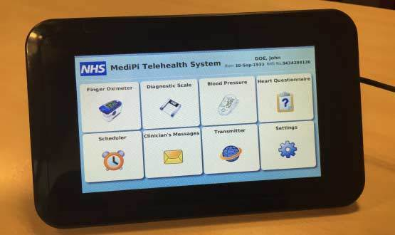 MediPi open source telehealth kit piloted in NHS
