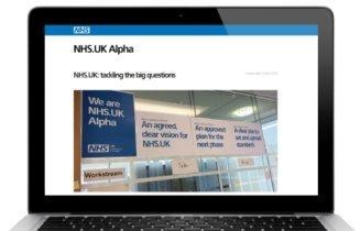NHS.uk: 'digital hub' plans progress
