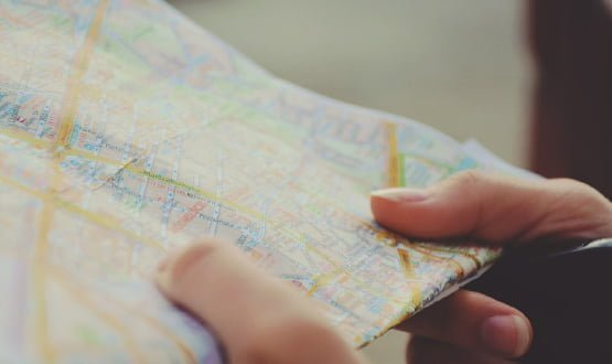 Hit the road, map