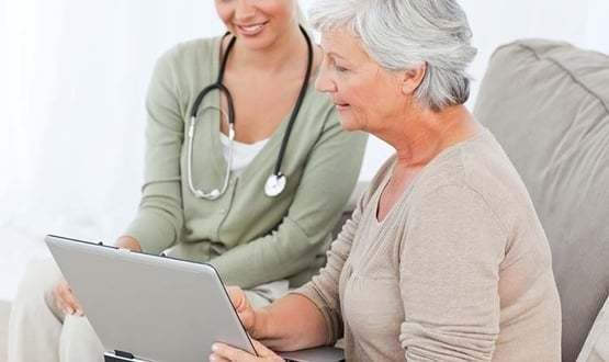 Successful mobile working in community healthcare