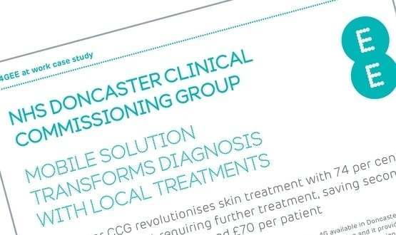 NHS Doncaster CCG revolutionises skin treatment