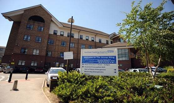 Jessop Wing Maternity Hospital where the preterm