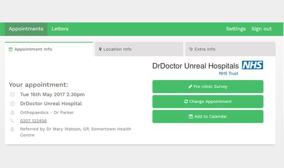 DrDoctor to be trialled across 11 more NHS hospitals