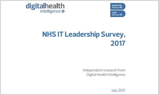 Confidence in achieving NHS 2020 digitisation targets falls