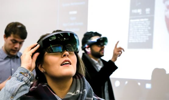 Dundee students mix reality with Microsoft HoloLens surgical training apps