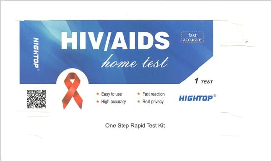 HIV/AIDS home test kits seized over potential false results