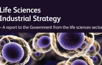 Life Sciences Industrial Strategy front cover