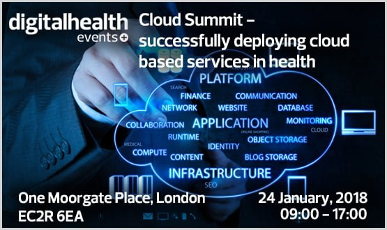 Digital Health Cloud Summit: successfully deploying cloud based services in health