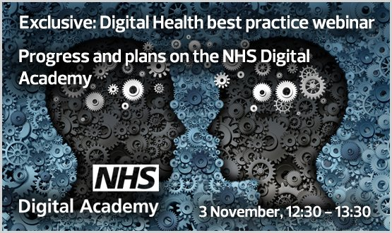 Progress and plans on the NHS Digital Academy – Webinar