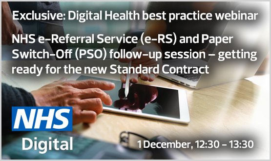 NHS e-referral service and paper switch off follow-up session – getting ready for the new standard contract – Webinar