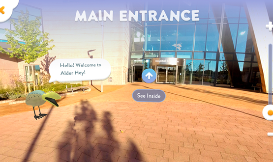 Alder Hey Children's NHS Foundation Trust introduces children's app