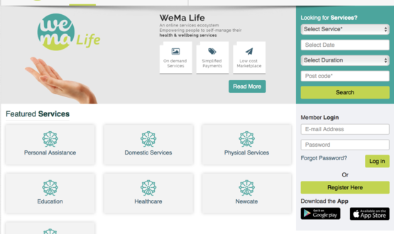 WeMa Life founder touts digital platform as the 'Amazon for care'