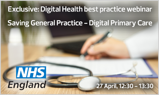Webinar: Saving General Practice – Digital Primary Care