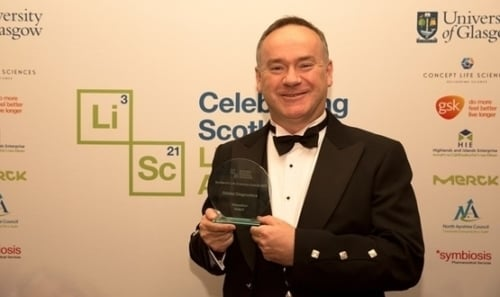 Giles Hamilton, Commercial Champion for SLIC and CEO of Orbital Diagnostics