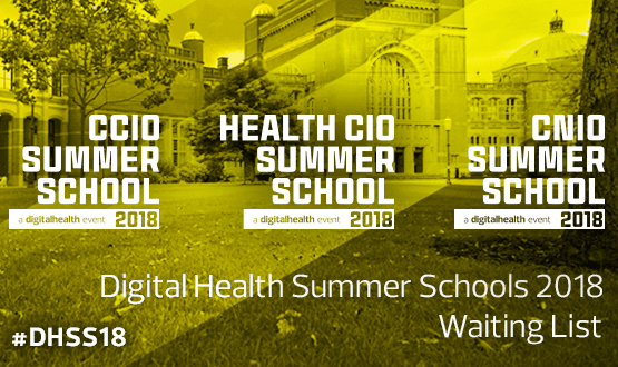 Digital Health Summer Schools 2018 – Waiting list