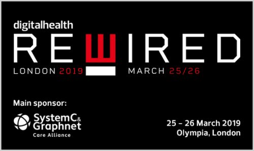 Digital Health Rewired: 25 - 26 March 2019, Olympia London