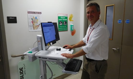 Barts Health NHS Trust staff WOWed by new workstations