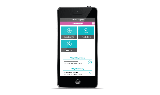 Warfarin self-test app touches down on NHS App Library