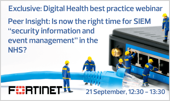 "Peer Insight: Is now the right time for SIEM ""security information and event management"" in the NHS?"