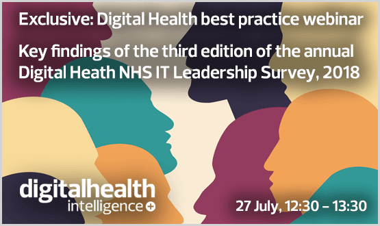 Webinar: Key findings of the third edition of the annual Digital Heath NHS IT Leadership Survey, 2018