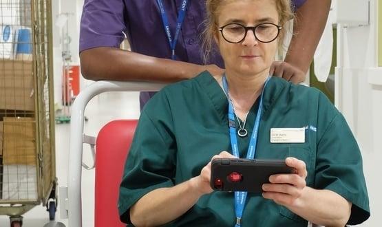 Northwick Park pilots porter hailing app for A&E staff