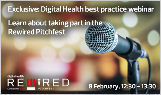 Learn about taking part in the Rewired Pitchfest, 26 March, 2019