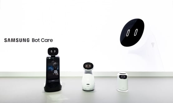 Samsung unveils Bot Care health robot at CES 2019