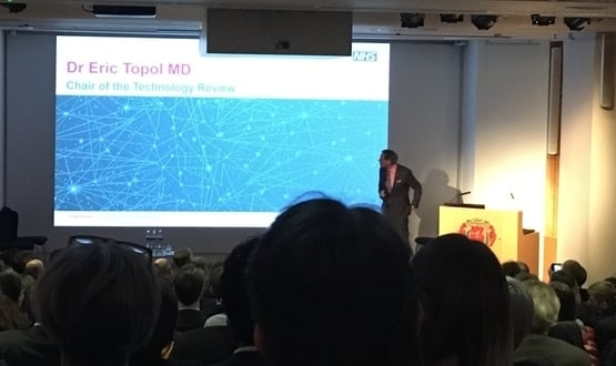 Topol hopes his review 'will repair patient and doctor relationships'