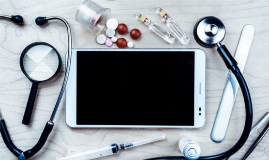 Is the mobile device now a ubiquitous part of healthcare? We want your views