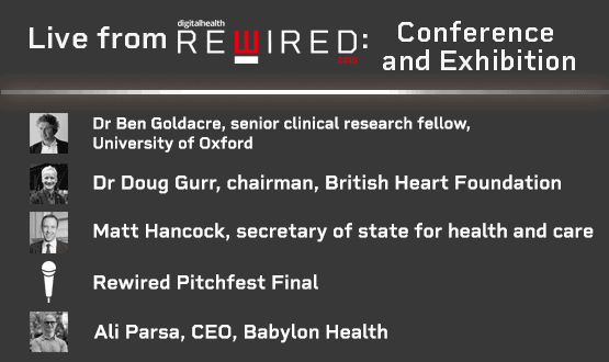 Digital Health Rewired Conference and Exhibition: What to expect