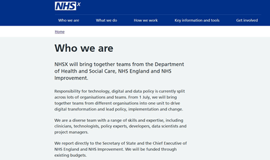 NHSX - Amended