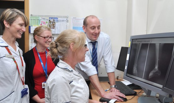 Poole Hospital launches virtual fracture clinic to improve patient experience