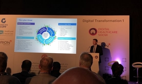 NHS Digital cyber chief puts emphasis on 'protecting patient information'