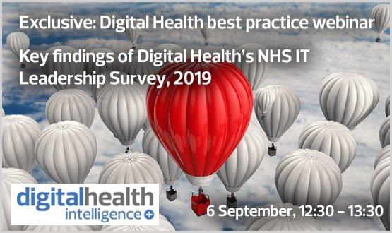 Key findings of Digital Health's NHS IT Leadership Survey, 2019