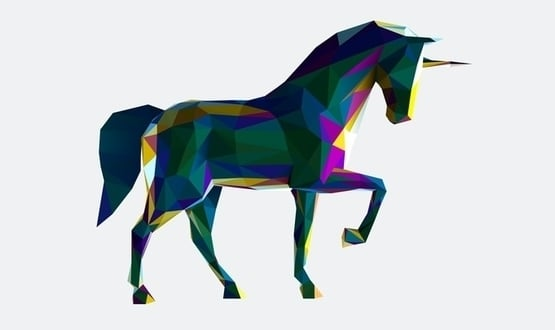 A graphic of a unicorn (by the way, they're not real)